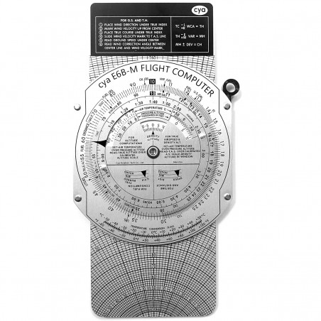 CYA Aluminum E6B Calculator...