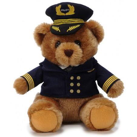 Pilot Bear 22 cm