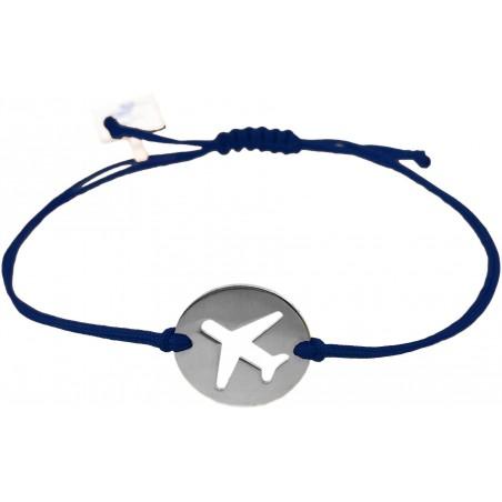 Plane Coin Bracelet