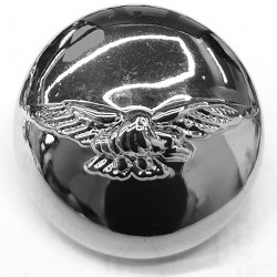 Silver buttons - set of 6