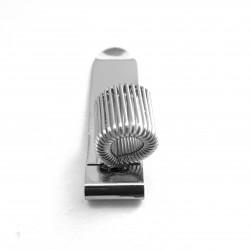 Pen clip for kneeboard
