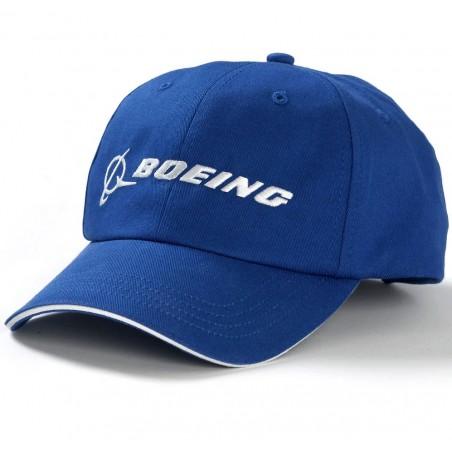 Sapca Boeing Blue Logo