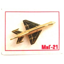 3d badge pin MiG-21 Fishbed