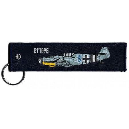 Breloc brodat Bf-109G /...