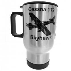 Thermo mug aircraft Cessna...