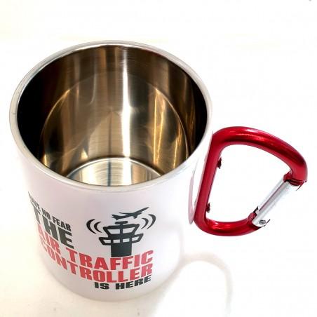 """Metal carabiner mug """"Have..."""