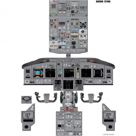 Boeing 737-NG Cockpit...