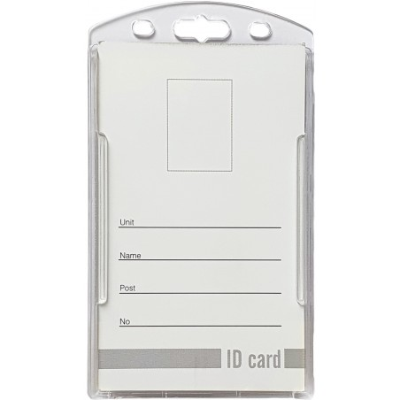 Double ID Holder