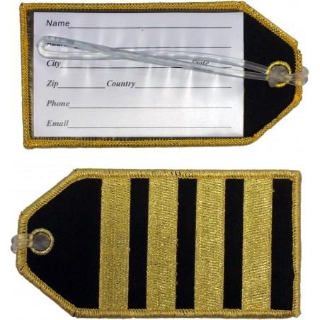 Eticheta bagaj Captain (4...
