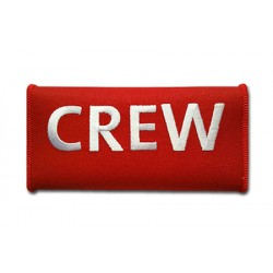 CREW Luggage Handle Red