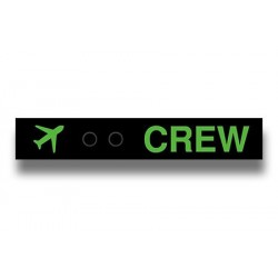 Double Snap Crew Strap - Green