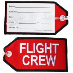 Eticheta bagaj Flight Crew