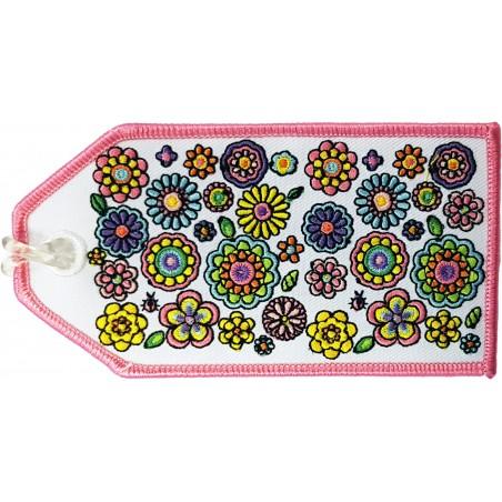 Flower Power Bag Tag