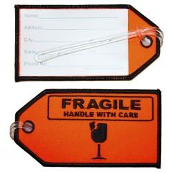 Eticheta bagaj FRAGILE