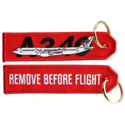 A340 RBF Keyring