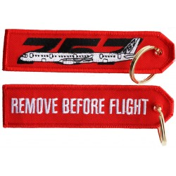 B757 RBF Keyring