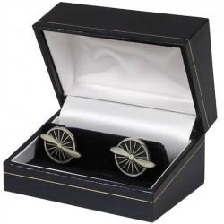 Propeller Cufflink Silver