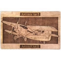 Placheta de lemn Antonov An-2