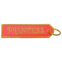 Breloc brodat Princess