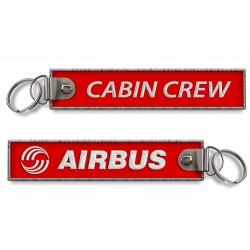 Breloc brodat  Airbus -...