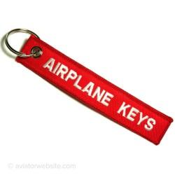 Breloc brodat Airplane Keys