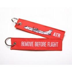 Breloc brodat ATR RBF