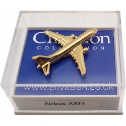 Airbus A321 3D (Gold)