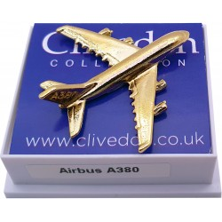 Airbus A380 3D (Gold)