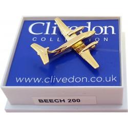 Beech 200 3D (Gold)