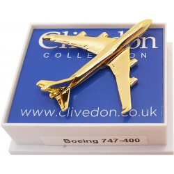 Boeing 747-400 3D (Gold)