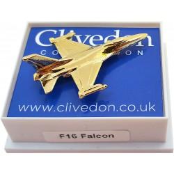 F16 Falcon 3D (Gold)