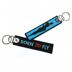 Born To Fly-Embroidered...