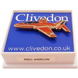 Red Arrow Pin Badge Enamel