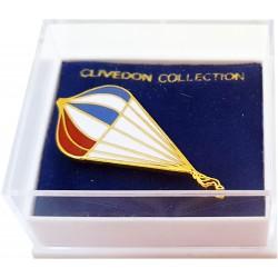 Round Parachute Pin Badge