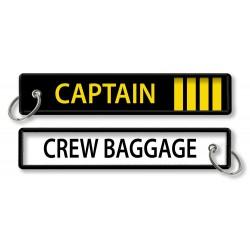 Breloc brodat CAPTAIN -...