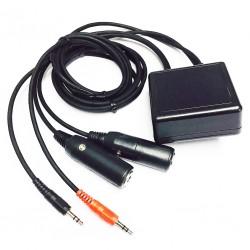 Pilot PA96 GA to PC headset...