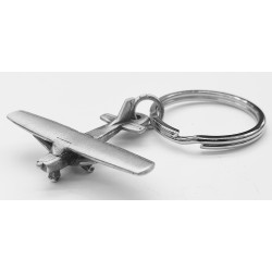 Cessna 150/172 Keyring Pewter