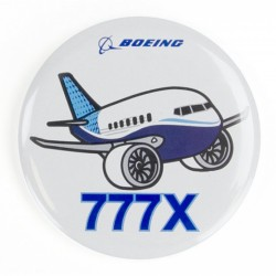 Boeing 777X Pudgy Button