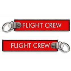 FLIGHT CREW - BagTag RED