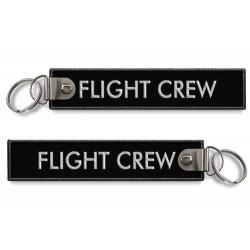 Breloc brodat FLIGHT CREW -...