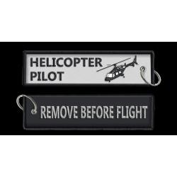Breloc brodat Helicopter RBF