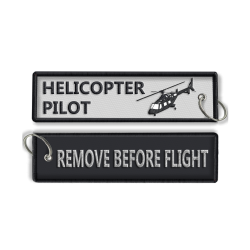 Helicopter RBF Keyring