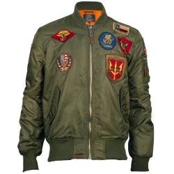 Top Gun® MA-1 Nylon Bomber...