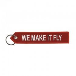 Airbus We make it Fly key ring