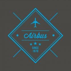 Airbus Tee-shirt V-neck...