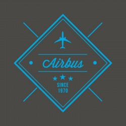"""Tricou Airbus V-neck """"Since..."""