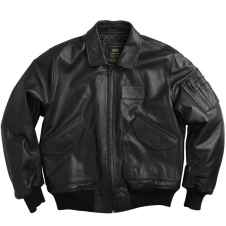 Alpha Industries CWU Leather