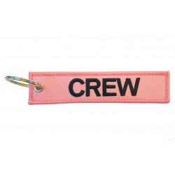 CREW Keyring (Pink)
