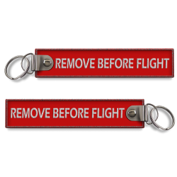 RBF Keyring Buckle - Red
