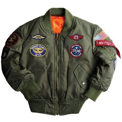 Alpha Industries MA-1 Patch...